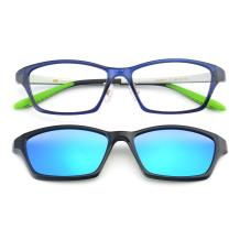 HAN TR光学眼镜架-蓝色(HN49413-C2)(送偏光镜套)