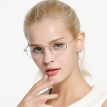 kede HAN联名款光学眼镜架-亮金色(HN41104 C4/M)