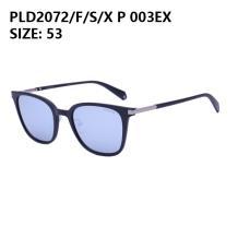 Polaroid/宝丽来太阳眼镜PLD2072/F/S/X 003EX 黑框浅蓝片