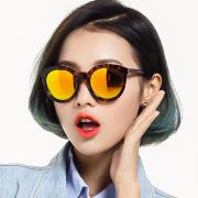 HAN时尚偏光太阳镜HD5829-S04 金棕玳瑁