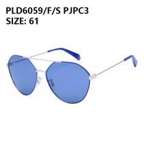 Polaroid/宝丽来太阳眼镜PLD6059/F/S PJPC3 银框蓝色片