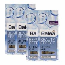 BALEA/芭乐雅 玻尿酸保湿浓缩精华安瓶 7*1ML 四件装 海淘专享