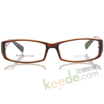 """mikapai米卡派tr90超韧性记忆树脂眼镜架8917-c15"""