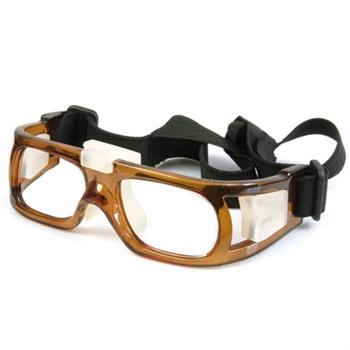 耐安迪进口板材专业运动近视镜黄色