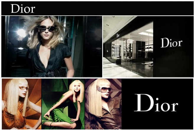 dior太阳镜宣传海报