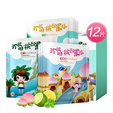 珍视明蒸汽眼罩(缤纷果味)12片/盒