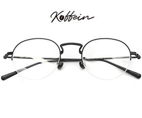 Koffein时尚半框眼镜架Eartha