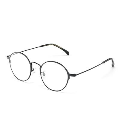 HAN 不锈钢光学眼镜42082M+1.56防蓝光镜片