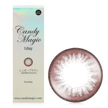 candymagic 1day彩色日抛10片装-BEGINNER Chocolate